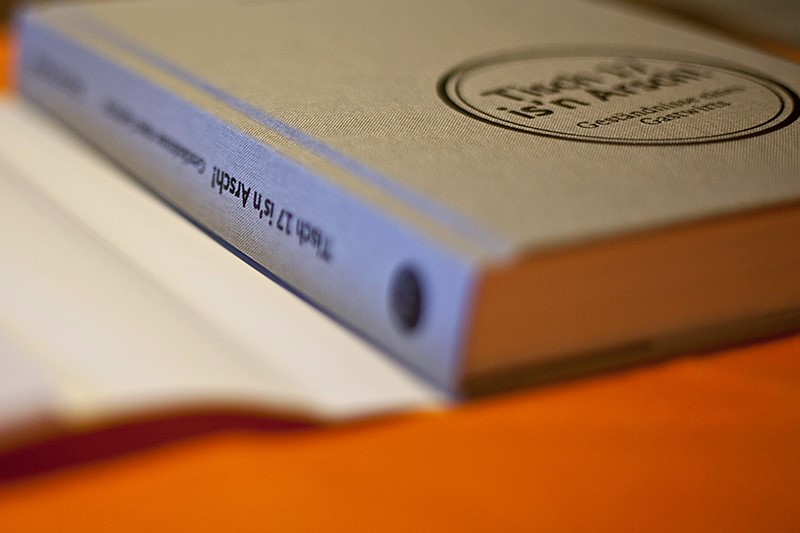 Gastronomie Buch Tisch 17 is'n Arsch