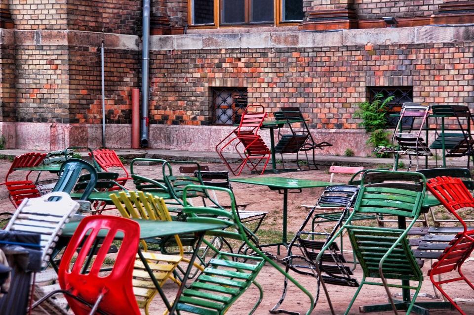Outdoor Möbel putzen