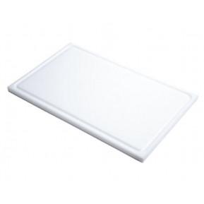 Schneidebrett mit Saftrille Gastro-M GN1/1 weiß