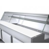 Plexi-Schiebetür für Kühltheke Kuchentheke Profi 130