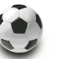 """Papstar Serviette 33x33, 3lagig, 1/4-Falz """"Fußball"""" - 20 Stück"""