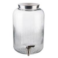 APS Glas-Getränkespender Ø 20 cm, H: 30,5 cm, 7 Liter