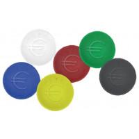 Pfandmünzen blau - 100 Stück