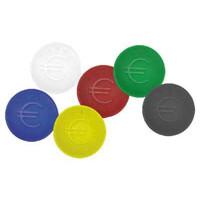 Pfandmünzen schwarz - 100 Stück