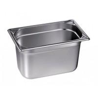 Blanco Edelstahl Gastronorm-Behälter GN 1/4 - 65 mm, Inhalt: 1,7 Liter