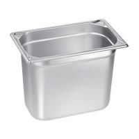 Blanco Edelstahl Gastronorm-Behälter GN 1/4 - 150 mm, Inhalt: 4 Liter