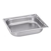 Blanco Edelstahl Gastronorm-Behälter GN 1/2 - 55 mm, Inhalt: 3,2 Liter