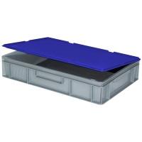 Scharnierdeckel für Euro-Stapelbehälter - blau | Lager & Transport/Lagerausstattung/Lager- & Transportbehälter