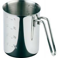 APS Messbecher Ø 10 cm, H: 14 cm, 1 Liter