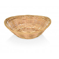 Bambus Brotkorb, oval, 20x15,5x5cm