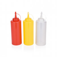 Dosier- / Quetschflasche, 0,45 Liter, weiß