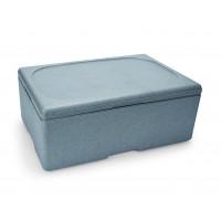 Thermobox für 1/1 Gastronorm Behälter, grau 150mm tief