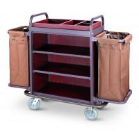 Zimmerservicewagen inkl. Wäschesäcke - mit 2 Wäschesäcke