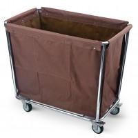 Wäschesammelwagen mit großem Wäschesack, 94x56x84cm