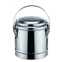 Thermobehälter, Chrom-Nickel-Stahl m. Bügelgriff, Ø 23 cm - 4 Liter