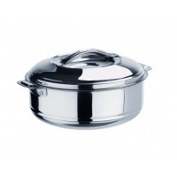 Thermobehälter aus Edelstahl mit Lappengriffen -10 Liter