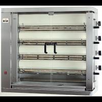 Vertikaler Hähnchengrill ECO 4 - mit Erdgas