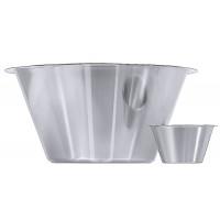Küchenschüssel 18/10, seidenmatt poliert, Randdurchmesser: 28,5 cm, Volumen: 6 l