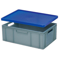 Stülpdeckel für Euro-Stapelbehälter - blau | Lager & Transport/Lagerausstattung/Lager- & Transportbehälter