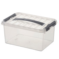 Klarsichtbehälter mit Deckel 300x200 mm - 140 mm | Lager & Transport/Lagerausstattung/Lager- & Transportbehälter