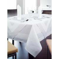 Tischwäsche Madeira, 100% Baumwolle, 4-seitiger Atlaskante, 40 x 130 cm