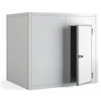 Kühlzelle PROFI 80 mm Wandstärke 2990 x 1390 x 2160 mm mit Edelstahlboden