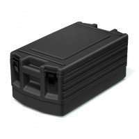 Rieber Thermoport Toplader mit Verschluss, schwarz