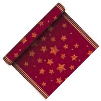 """Papstar Tischläufer """"Sparkling Stars"""", 3 m x 40 cm"""