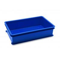 Teigballenbehälter / Stapelkasten für Teigwaren, blau