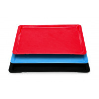Tablett Polyester Euronorm, rot