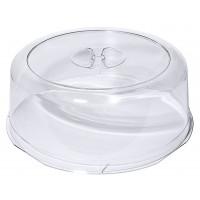 Tortenhaube klar, LURAN, Durchmesser: 30 cm, Höhe 9,5 cm