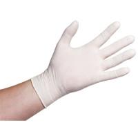 Sans Marque Einweg-Latexhandschuhe gepudert M - 100 Stück