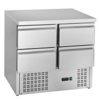 Kühltisch ECO 0/4 Mini - GN 1/1   Kühltechnik/Kühltische/Gastro-Kühltische/Kühltische-Mini