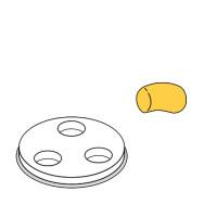 Nudelformscheibe Gnocchi 50