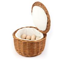 Eier-Korb ca. Durchm. 26 cm, Höhe 17 cm