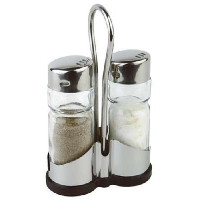 APS Pfeffer- und Salz Menage 8 x 8 cm, H: 13 cm
