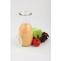 Saftflaschen mit Deckel 12-teiliges Set