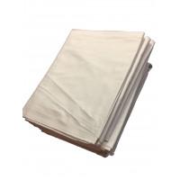 Bettlaken TB 26 / G 11, 100 % Baumwolle, weiß, 150 x 250 cm