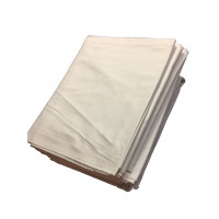 Bettlaken TB 26 / G 11, 100 % Baumwolle, weiß, 160 x 295 cm