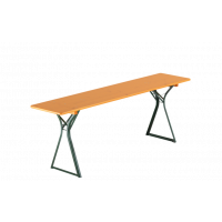 Tisch 220x50cm Beinfreiheit Kiefer