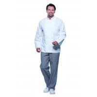 Herrenkochjacke Basic, weiß, Größe: L