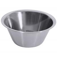 Küchenschüssel 18/10, hochgläzend poliert, Bodendurchmesser: 11 cm, Volumen: 1,3 Liter