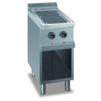 Elektroherd Dexion Serie 77 - 40/70 quadratische Kochflächen