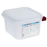 Araven Farbkodierte Lebensmittelbehälter 1/6 GN, 10 cm