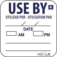"""Etikett """"Zu verwenden bis / Use by"""""""