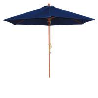 Sonnenschirm Bolero rund dunkelblau 3 meter