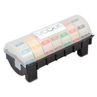 Kunststoffspender mit Wochenset wasserlösliche Etiketten