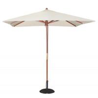 Sonnenschirm Bolero viereckig, creme - 2,5 Meter