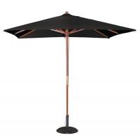 Sonnenschirm Bolero viereckig, schwarz - 2,5 Meter