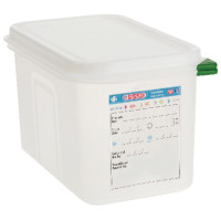 Araven Farbkodierte Lebensmittelbehälter GN 1/4, 6,5 cm